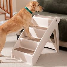 pupstep plus indoor dog stairs bed dog ramp at drs foster and smith