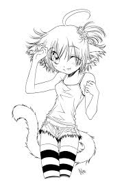 cat coloring pages for kids anime cat coloring pages coloring kids coloring kids anime