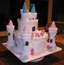 birthday cake castle tower sweets photos blog