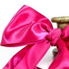 wide satin ribbon info