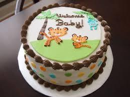 baby shower cake jungle baby shower diy