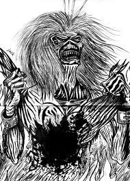 iron maiden s mascot eddie by deadgrinder on deviantart