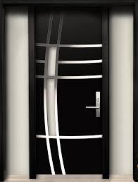 Designer Door Modern Contemporary Door Modern Wood Door With Stainless Steel