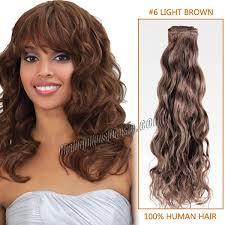 inch 6 light brown curly brazilian virgin wefts