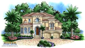 runaway bay house plan weber design group naples fl