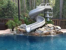 g force 360 degree pool slide g4c pool slides for above ground