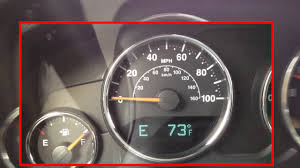 jeep wrangler speedometer cal flashing on jeep how to calibrate your digital compass on a