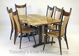 handmade the madison dining table u0026 chairs by timothy u0027s fine
