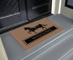 Welcome Doormats Equestrian Home Decor Other Equestrian Home Decor Items