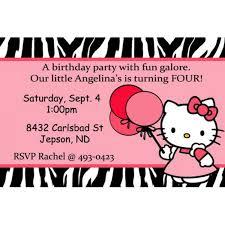 hello kitty birthday invites free printables gallery invitation