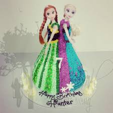 anna and elsa coronation cake the on the swing
