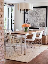 size rug under round dining room table indiepretty