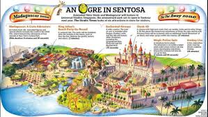 Universal Studios Map Orlando by Singapore Universal Studio Map Map Of Universal Studio Singapore
