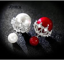 earrings big silver balls promotion shop for promotional earrings