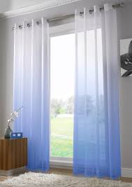 Crushed Sheer Voile Curtains by Curtains Elegance Sheer Voile Curtains Beautiful Blue Voile