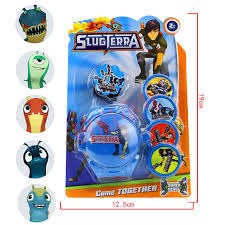 slugterra flying saucer launcher shooter toy slugterra action