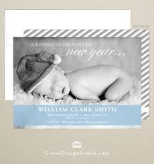 modern new years cards free shipping new years baby birth announcement modern