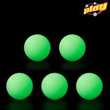 kit 5 glow balls play juggling