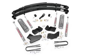 ranger ford lifted 4in suspension lift system for 83 97 ford 4wd ranger 480 20