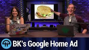 google home of the whopper youtube