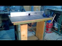 How To Make A Sewing Table by How To Make The Milling Table From The Old Table Of A Sewing
