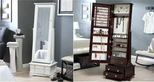 cheval jewelry armoire white standing jewelry armoire modern cheval mirror small wardrobe
