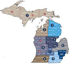 Allegan Michigan Map by Veterans Community Action Teams