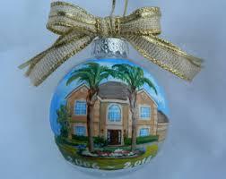handpainted house ornament custom house ornament