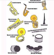 Tuba Memes - summerdrumgirl dut ur girl tuba jesus daily band memes