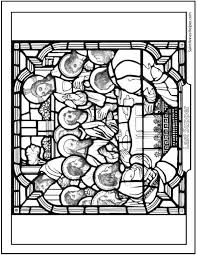 Last Supper Picture Holy Thursday Coloring Page Last Supper Coloring Page