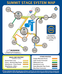 Keystone Colorado Map by Winter Bus Schedule Summit County Co Official Website