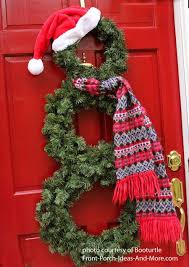 Christmas Decorations Outdoor Ideas - best 25 outside christmas decorations ideas on pinterest