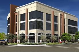 three story building mep design for office building