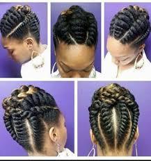 twists braids twist pinterest twisted braid natural and