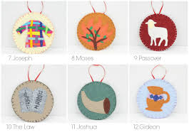 31 tree ornaments patterns small things