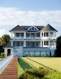 Cool Houses With Pools Coastal Home With Infinity Pool In Isle Of Palms South Carolina