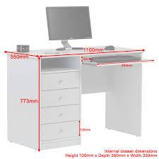 tech computer desk computer desk marymount aw22813