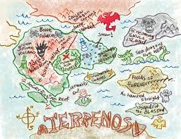 Map Of Oz Fantasy World Map Tv Tropes