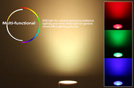 wifi rgb ww color changing gu10 smart bulb torchstar