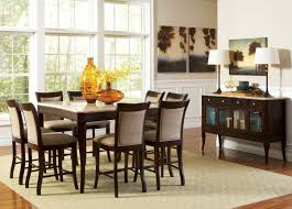 9pc counter height storage dining table 9pc counter height storage