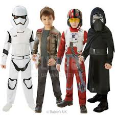 rubies star wars new childrens classic stormtrooper kylo ren poe