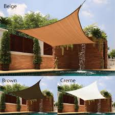 overstock com medium square sail sun shade sail sun shade is