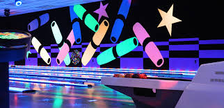black light bowling near me leda light house party package