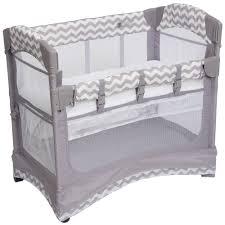 mini arc co sleeper baby bassinet designed for easy nursing
