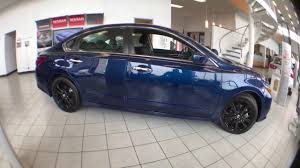 nissan altima 2017 black edition 2017 nissan altima blue and black 360 view at route 22 nissan
