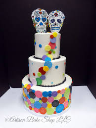 day of the dead wedding cake whimsical unique or themed wedding cakes custom wedding cakes