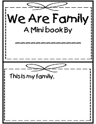 My Family Writing Practice Lesson Plan Education Best 25 Kindergarten Family Unit Ideas On Activities