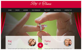 marriage invitation websites free online indian wedding invitation website 6571