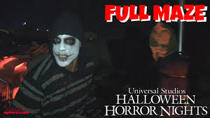 halloween horror nights the purge terror tram survive the purge hd full maze halloween horror