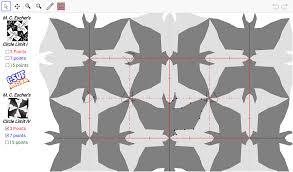 m c escher tessellation sketch pad geogebra